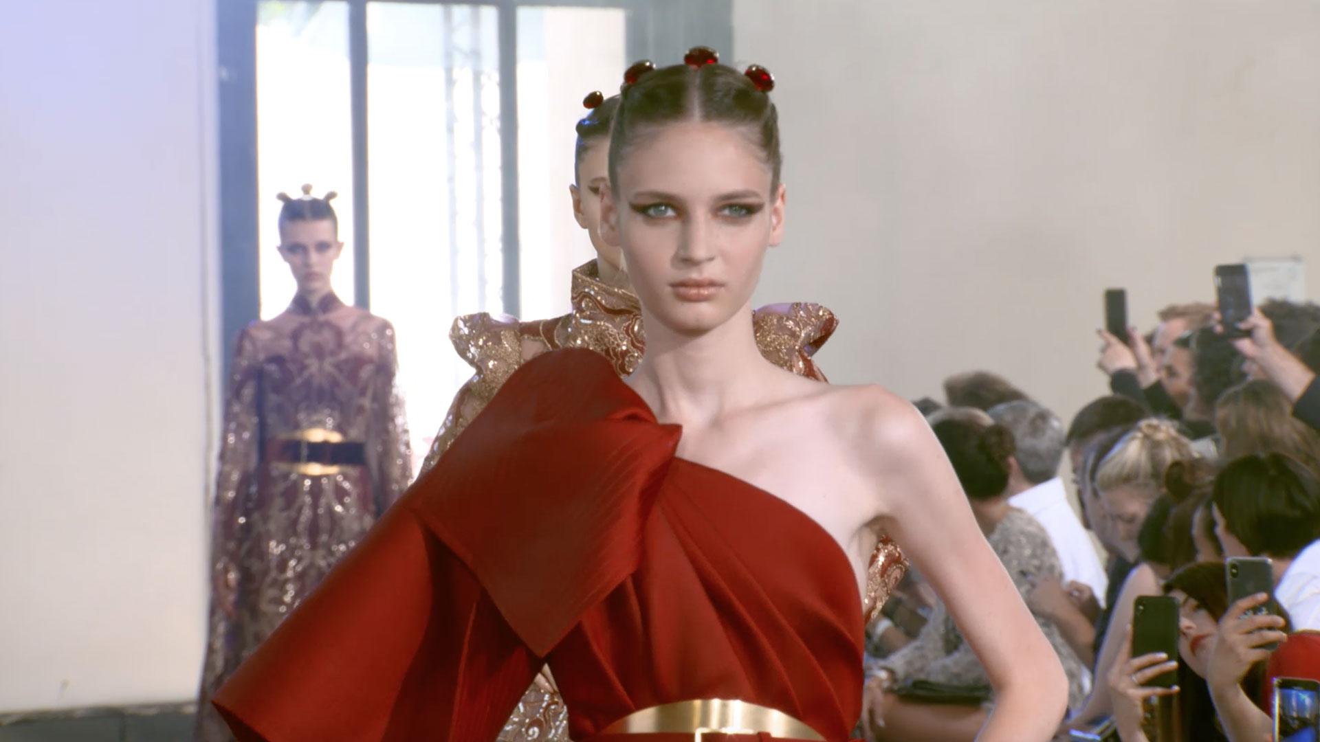 elie saab haute couture hiver 2020